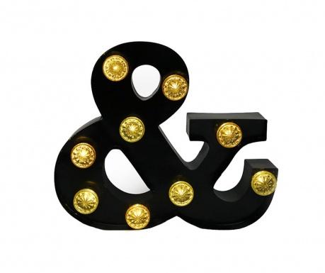 Svetelná dekorácia Ampersand