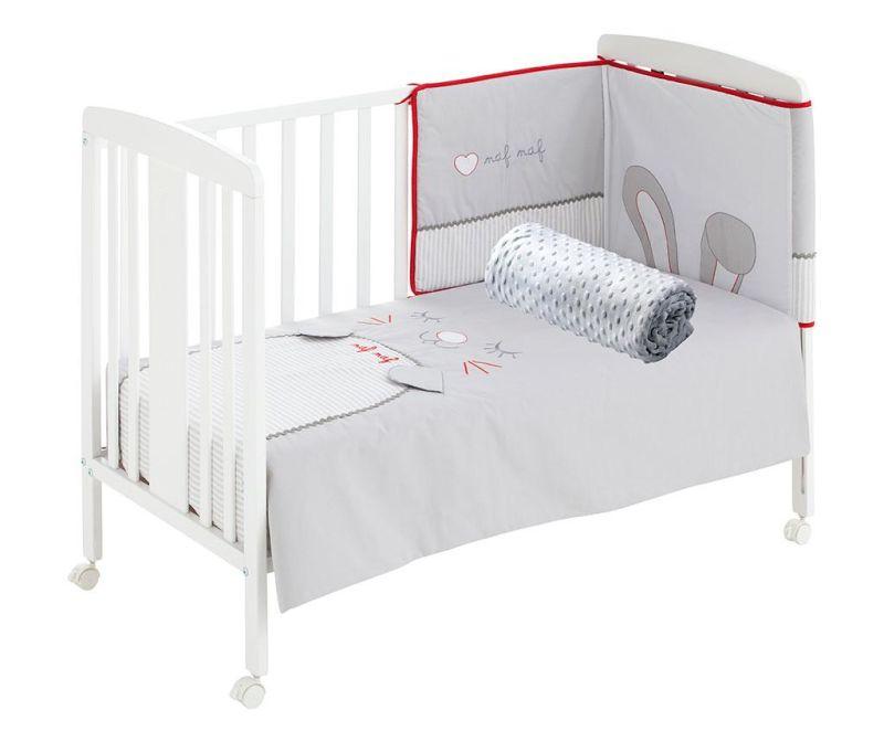 Set - otroška posteljica in dodatki Rabbit