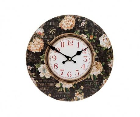 Zegar ścienny Fleurs
