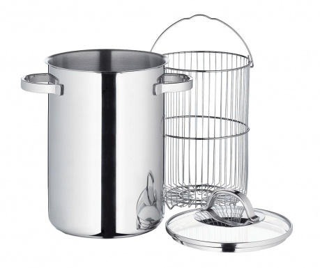 Pot with lid for asparagus Irwin 4 L