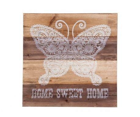 Nástěnná dekorace Butterfly Home