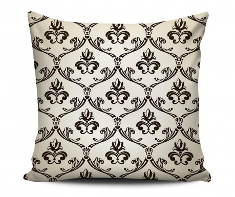 Decorative cushion Royal White 43x43 cm