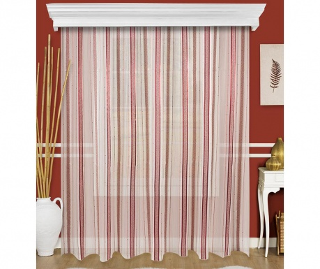 Curtain Pinesse Red 200x260 cm