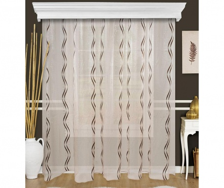 Curtain Evin Black 200x260 cm