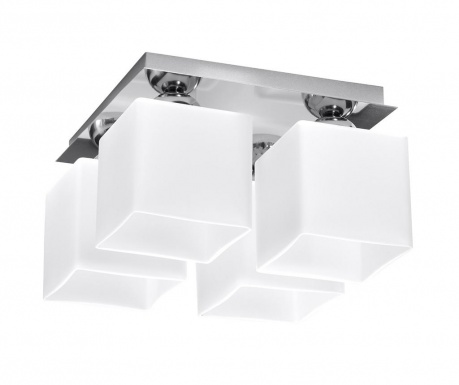 Полилей Square Four White Chrome