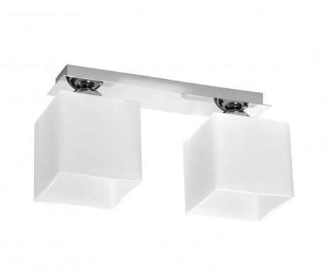 Полилей Square Two White Chrome