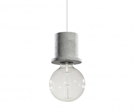 Závesná lampa Bresso Grey