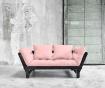 Sofa extensibila Beat Black and Pink