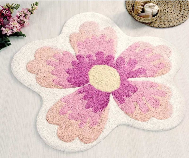 Lavin Pink Fürdőszobai szőnyeg 100x100 cm