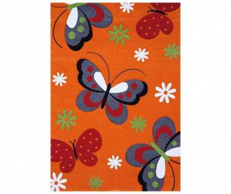 Covor Diamond Kids Orange Butterfly