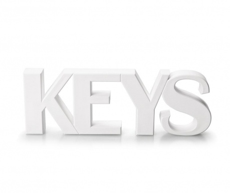 Suport magnetic pentru chei Keys White