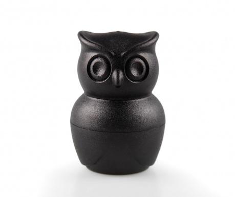 Set solnita, pipernita si suport pentru ou fiert Morning Owl Black