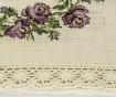 Ubrus Dalya Lilac 100x100 cm