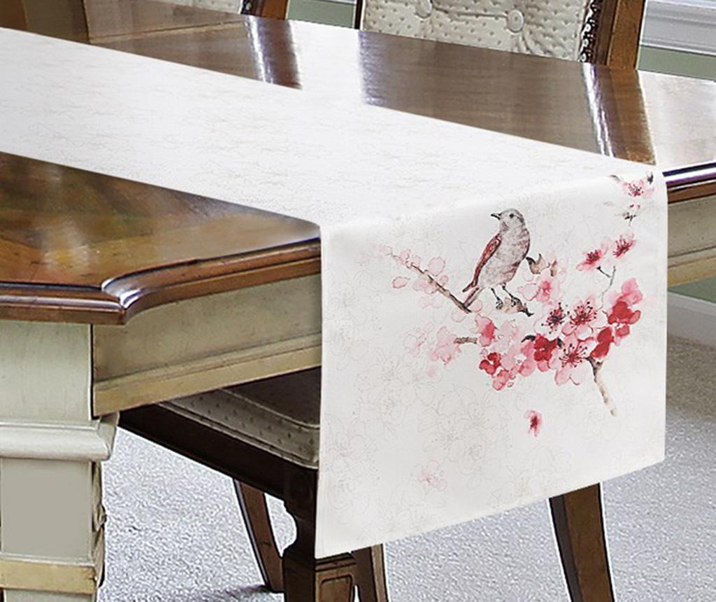 Traversa de masa Aiden Cream Pink 40x180 cm