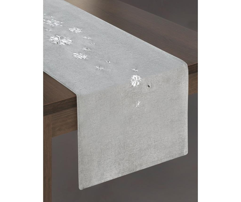 Traversa de masa Rene Grey 33x180 cm