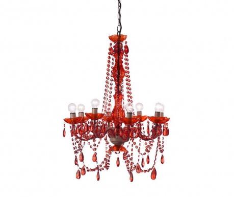 Żyrandol Stella Red
