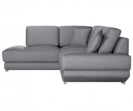 Ляв ъглов диван Kaya Grey