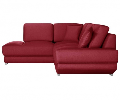 Ляв ъглов диван Kaya Red