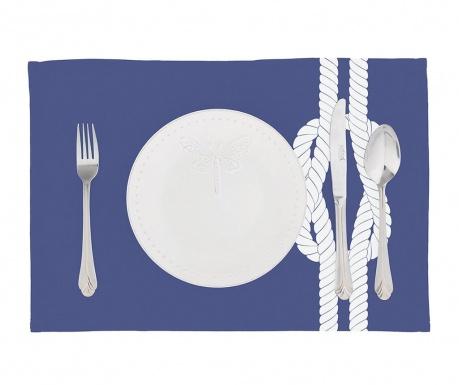 Zestaw 2 podkładek stołowych Knot Blue