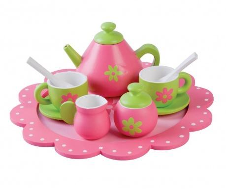 Zabawkowy zestaw do herbaty Flower