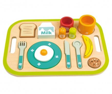 Zabawkowy zestaw śniadaniowy 14 elementów My Breakfast