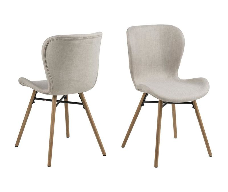 Sada 2 židlí Batilda Sand