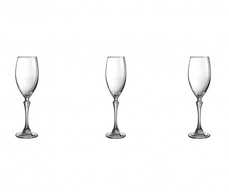 Set 3 čaše za vino Poetic