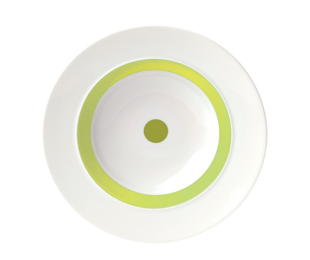 Duboki tanjur The Dot Green