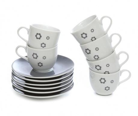 Сервиз 6 чашки и 6 чинийки Kender