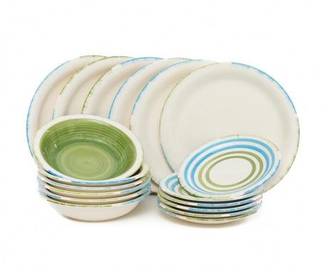 Сервиз за хранене 18 части Fresh Green