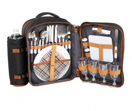 Plecak piknikowy z wyposażeniem dla 4 osób Front
