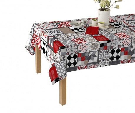 Piatto Rouge Asztalterítő
