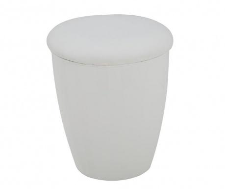 Taboret Easy White