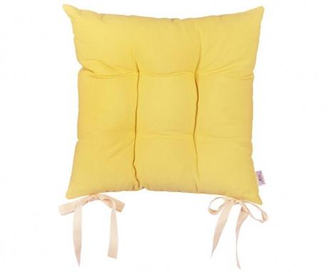 Perna de sezut Pure Yellow 37x37 cm