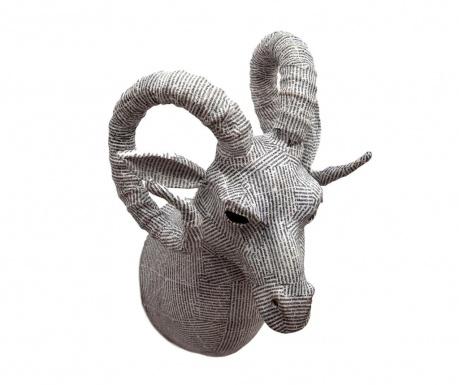 Zidni ukras Newspaper Goat