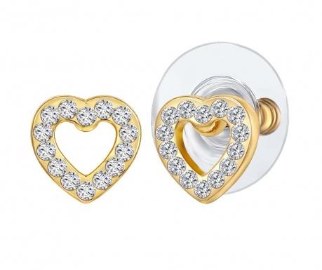 Romantique Gold Fülbevaló