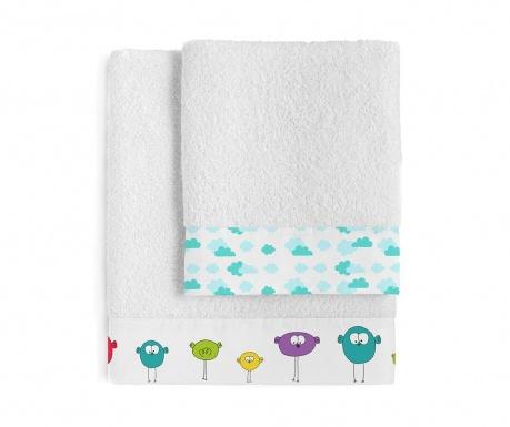 Комплект 2 кърпи за баня Birdie