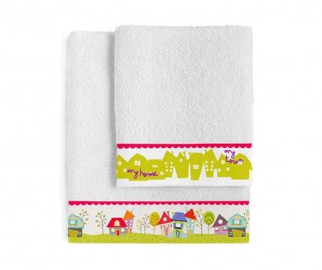 Комплект 2 кърпи за баня My Town