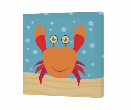 Картина Crab 27x27 см