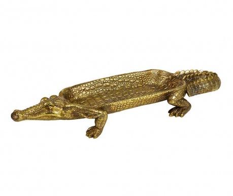 Crocodile Dísztál