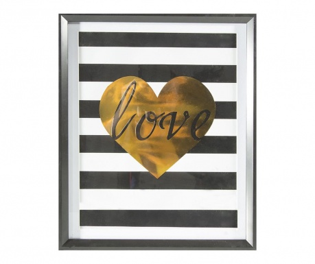 Slika Stripes Love 40x50 cm