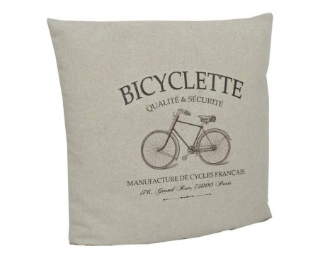 Perna decorativa Riding Bicycle 40x40 cm