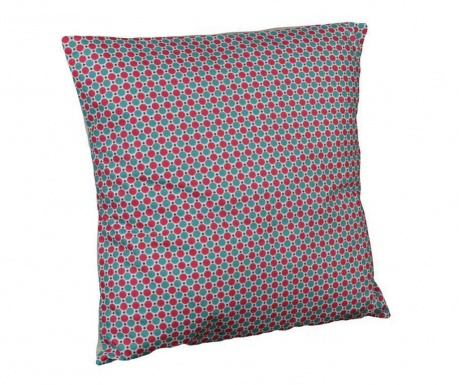 Perna decorativa Retro Dots Chic Fuchsia 40x40 cm