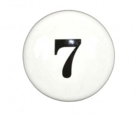 Buton pentru sertar Number Seven