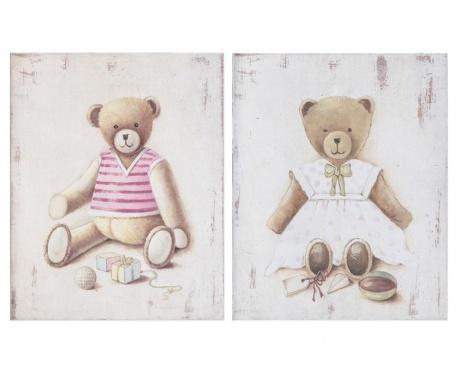 Комплект 2 картини Orsetta 20x25 см