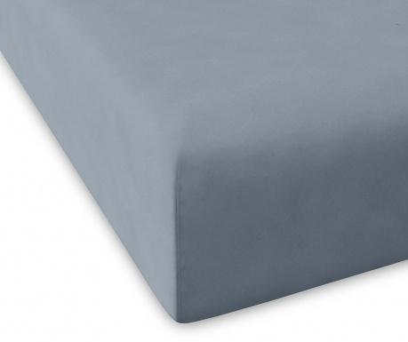 Cearsaf de pat cu elastic Casual Grey Water