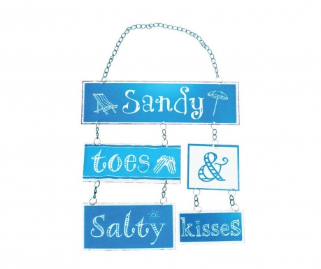 Decoratiune de perete Sandy Toes