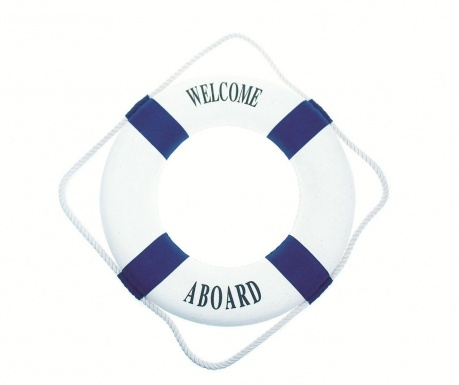 Decoratiune de perete Welcome a Board
