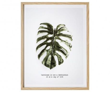 Картина Exotic Leaf 45x57 см