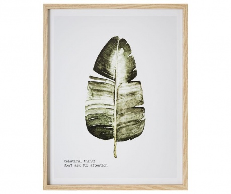 Πίνακας Beautiful Leaf 45x57 cm
